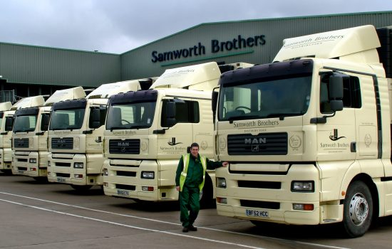 Samworth Brothers produces producing high quality chilled foods for the British market and employs over 8,000 people.