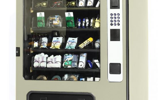 The Apex Supply Chain Edge 5000 vending machine is perfect for storing and supplying PPE and other products within close proximity to the user