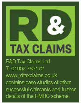 R&D Tax claims