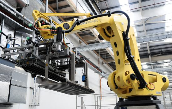 Private Equity company, Champ, has spent over a million pounds on robotic palletisers and new packaging equipment