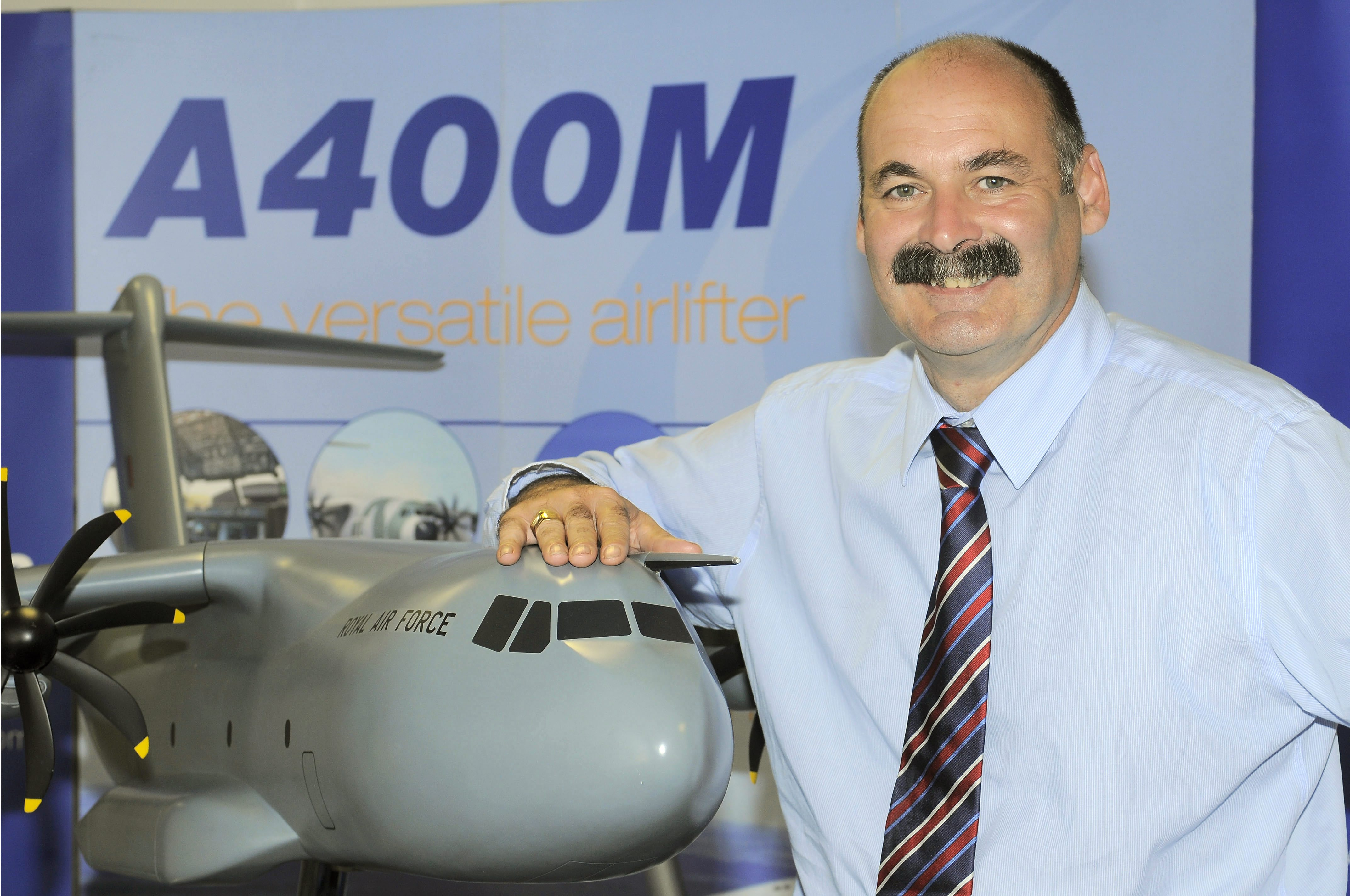 Mark Stewart. Airbus HR director and Filton general manager.