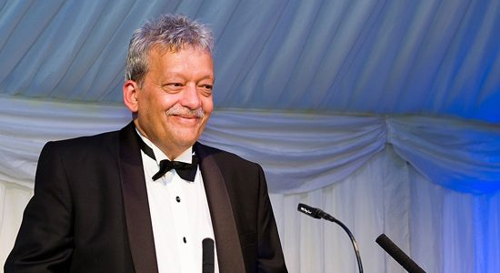 Sheffield Forgemasters International's chief executive, Dr Graham Honeyman