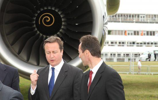 David Cameron, Farnborough 2012