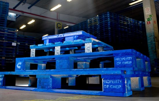 Pallet and logistics company CHEP reduces CO2.