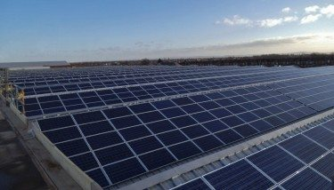 PV solar panels from Lightsource Renewable Energy