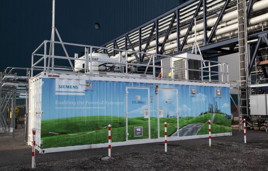 Siemens PEM technology should make it possible to store wind and solar generated electricity.