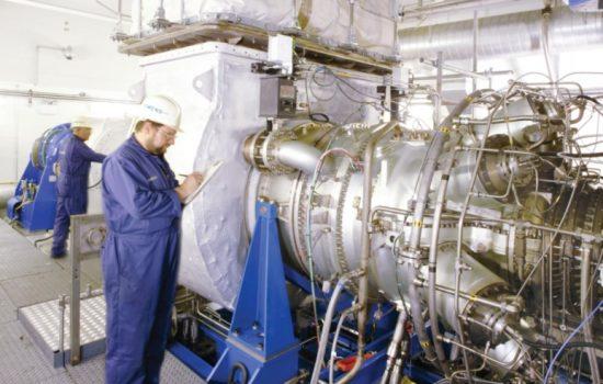 Siemens gas turbine Lincoln