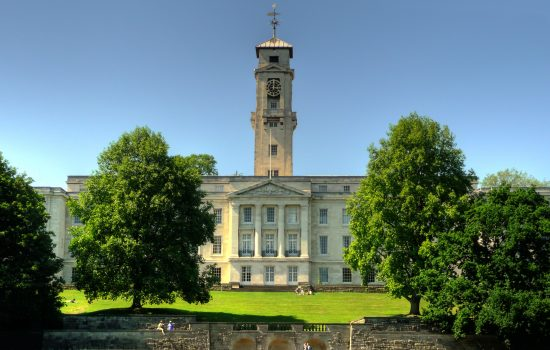 University of Nottingham's Trent Building (photo courtesy of Wikicommons)