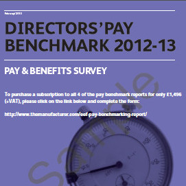 EEF Pay Benchmarking cover image