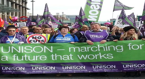 Trade union membership on the rise in the UK