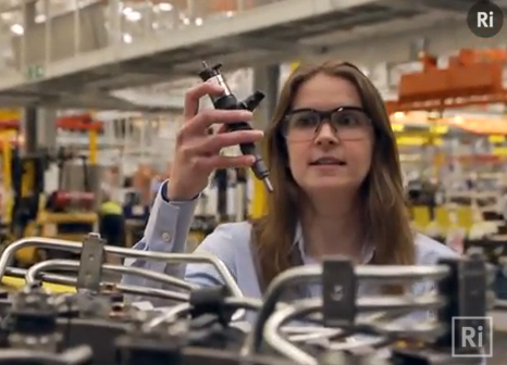 Manufacturing at Caterpillar UK - video still