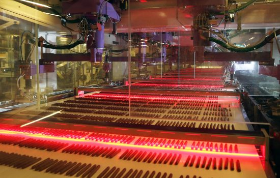 Biscuit production at Burton's Biscuits