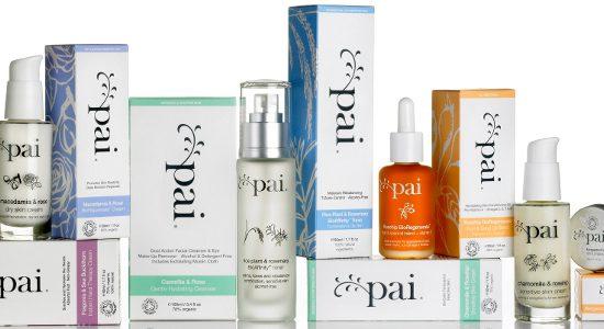 Pai Skincare range