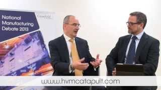 HVM Cataphult Dick Elsy video still from interview