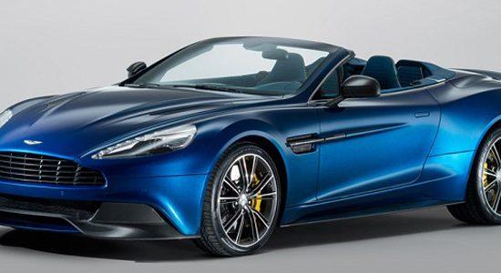 The new Aston Martin Volante features carbon-fibre bodywork and a 6.0-litre V12 engine