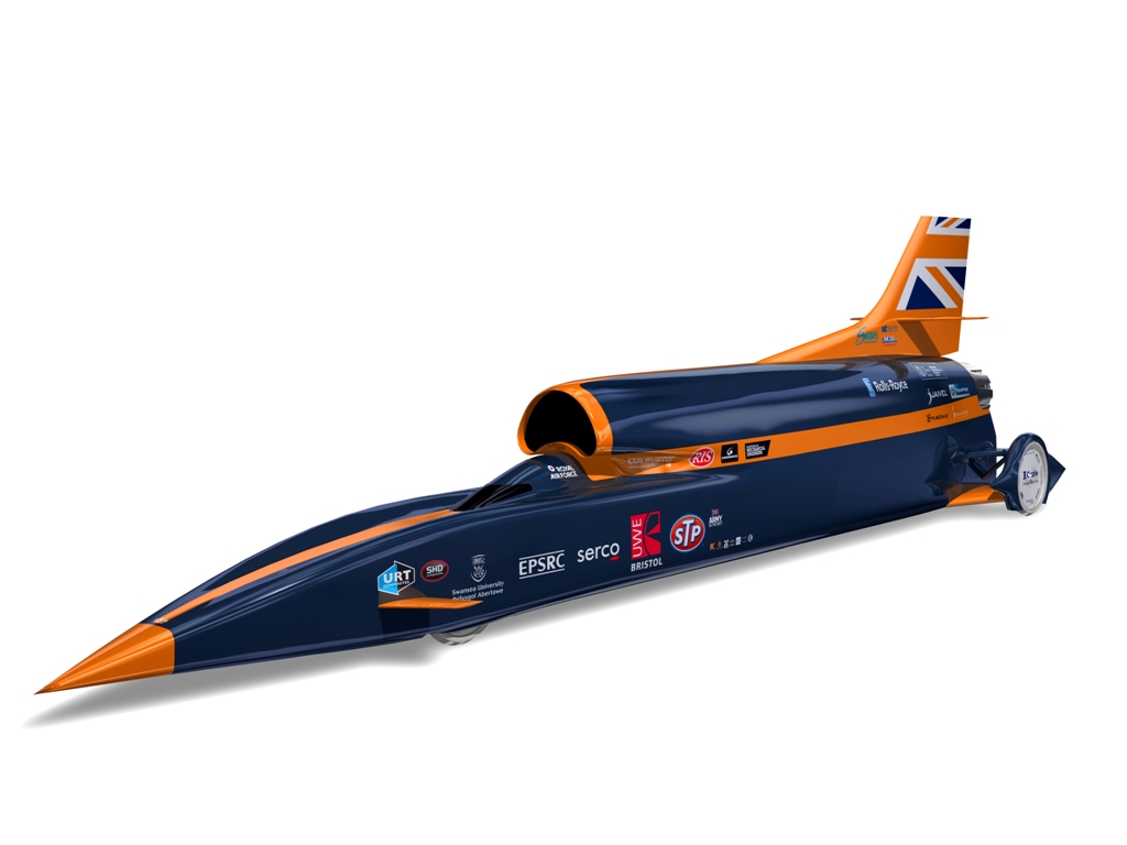 Bloodhound SSC world land speed record project
