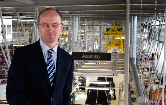 Frank Ludwig, Director of Manufacturing, Rolls Royce Motor Cars