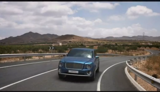 2013 Bentley Motors EXP 9 F SUV Concept - video grab