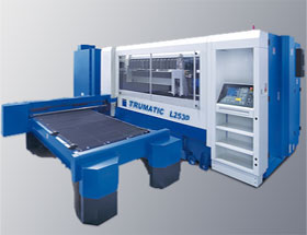 A laser cutter as used by Grenville Engineering.
