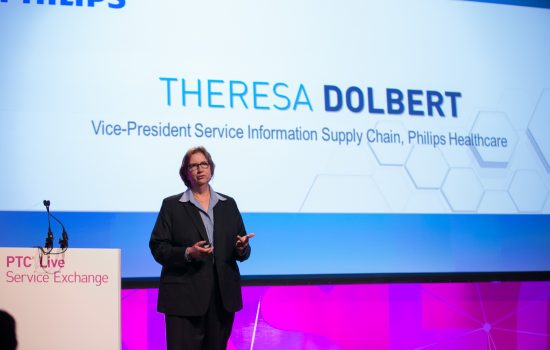 Theresa Dolbert, VP service information supply chain, Philips Healthcare