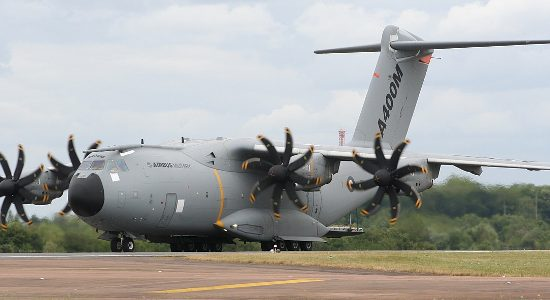 Airbus delivers wings for first RAF A400M