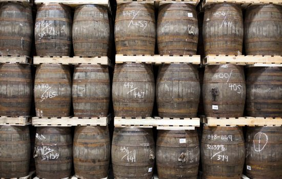 A true Scotch whisky must be matured in oak casks. Most of the oak is now reclaimed or comes from the US