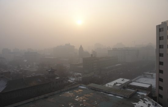 Pollution in Beijing, China has reached dangerous levels with the Government vowing to take action.