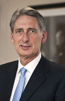 Philip Hammond, Chancellor of the Exchequer.