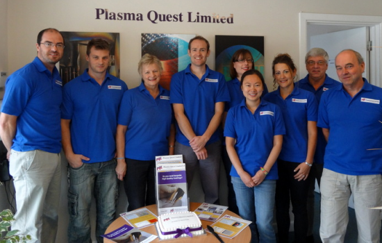The team from Plasma Quest, one of the companies attending the China trip.