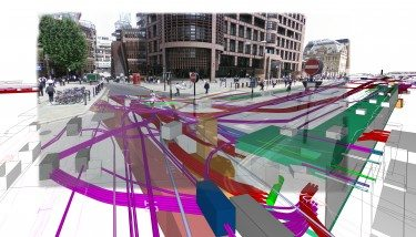 Liverpool Street - How Crossrail interfaces with the City, via BIM