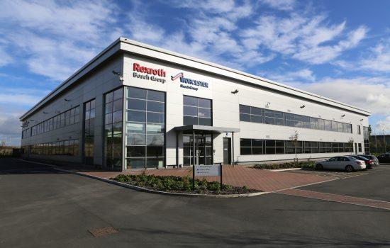 Bosch Rexroth's new facility in Normanton