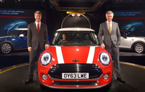 New MINI presented in Oxford