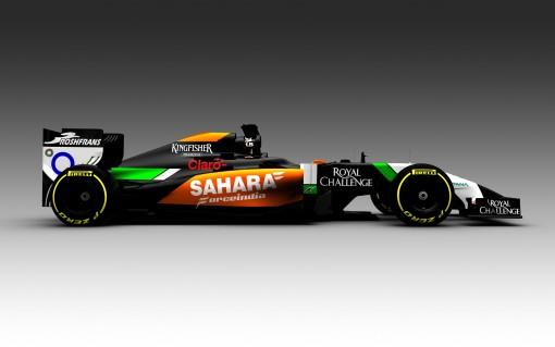 Image courtesy of Sahara Force India.