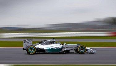 Mercedes F1 racing