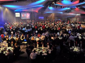 The Manufacturer of the Year Awards 2013 at the ICC in Birmingham.