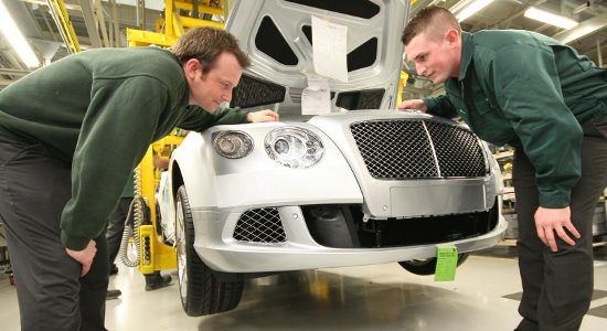 Bentley Motors confirms Crewe as new Centre of Excellence