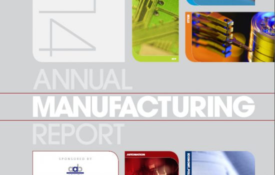 Annual Manufacturing Report 2014 front cover