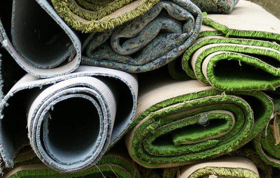 Rolled Up Carpet - image courtesy of Allfloors Glasgow.