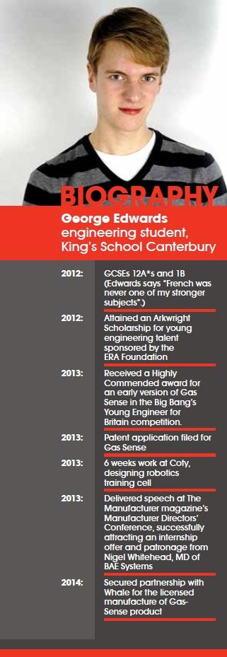 Entrepreneur George Edwards = biography