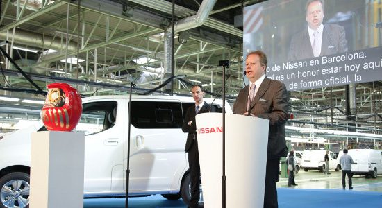 Nissan has started the production of its second all-electric vehicle - the e-NV200 - which will be available as both a passenger vehicle and light commercial van.