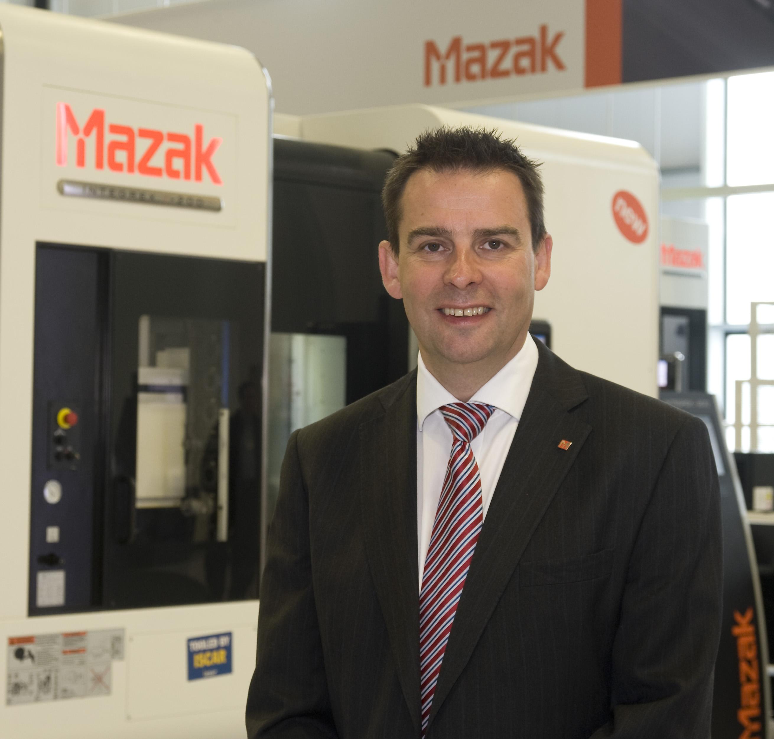 Richard Smith, MD UK and Ireland Sales, Yamazaki Mazak