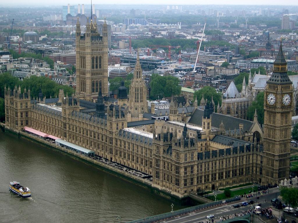Credit Paul Hudson. Houses of Parliament