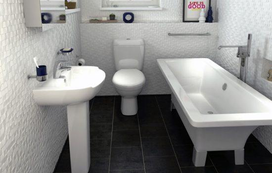 A bathroom from Bathrooms.com