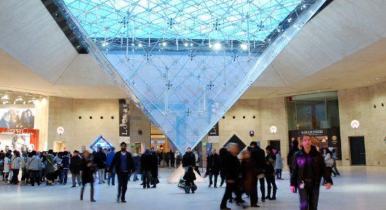 The Lourve museum Paris, photo courtesy of Lim Ashley