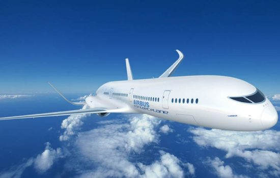 The Airbus Concept plane - image courtesy of Airbus.