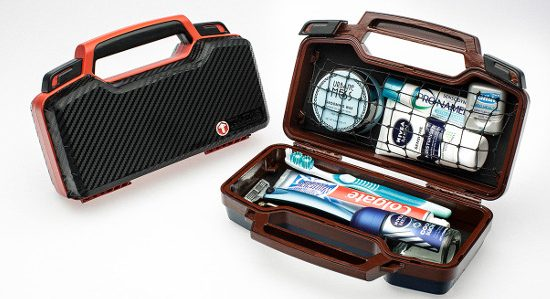 The Tooletries Bathroom Travel Case which is being funded using Kickstarter Crowd Funding.