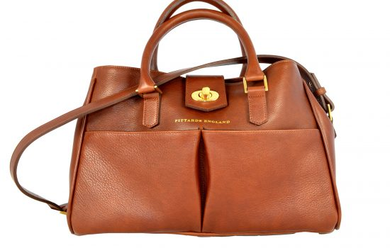 A tote bag from Somerset-based leather manufacturer Pittards England.