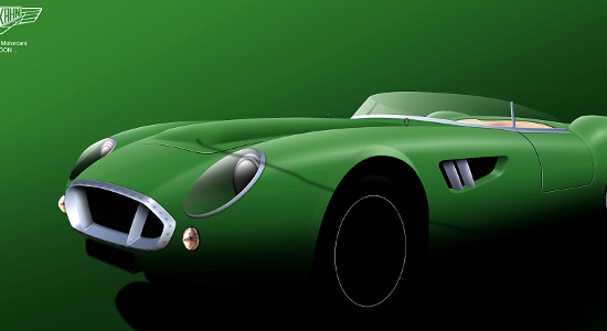 The Barchetta concept car from Khan Design.