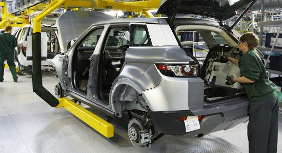 uk automotive - CovPress, a professional metal stamping and robotic assembly specialist, is a Tier 1 supplier to JLR, Renault and GM - image courtesy of Jaguar Land Rover.