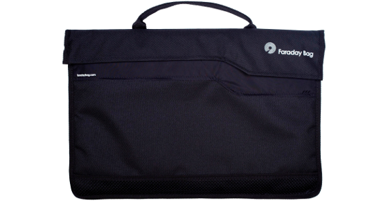 The Faraday Bag was produced with the assistance of the Manufacturing Advisory Service.